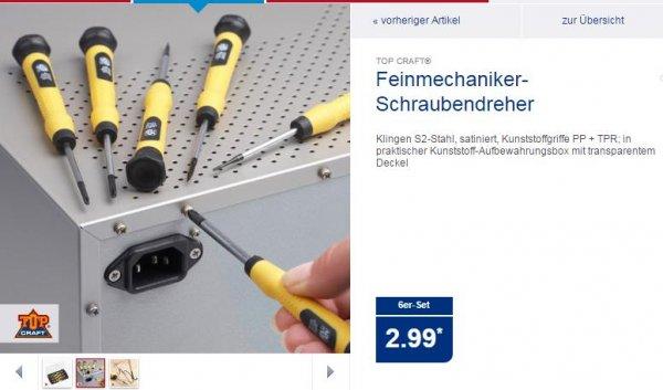 Feinmechaniker-Schraubendreherset für 2,99€ @Aldi-Nord ab Do 13.11