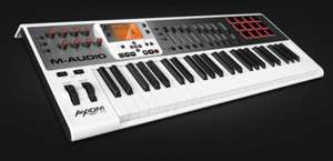 M-Audio Axiom AIR 49 USB-Keyboard und Pad Controller für 229€ @amazon.de