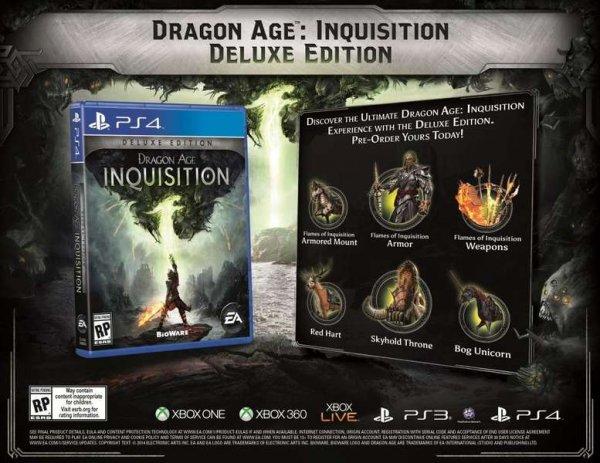 Dragon Age Inquisition Digital Deluxe Origin Mexiko ~ 44,99 USD