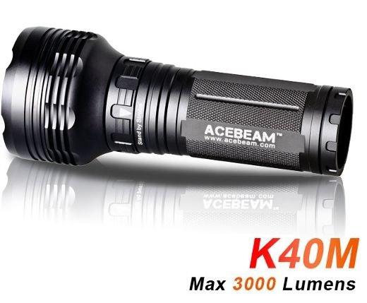 [Banggood] Acebeam K40M Taschenlampe