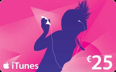 iTunes Karte 25€ für 15€ - etwas Aufwand