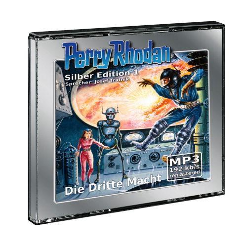 Perry Rhodan, Silber Edition, Teil 1 - Die dritte Macht (2 MP3-CDs)