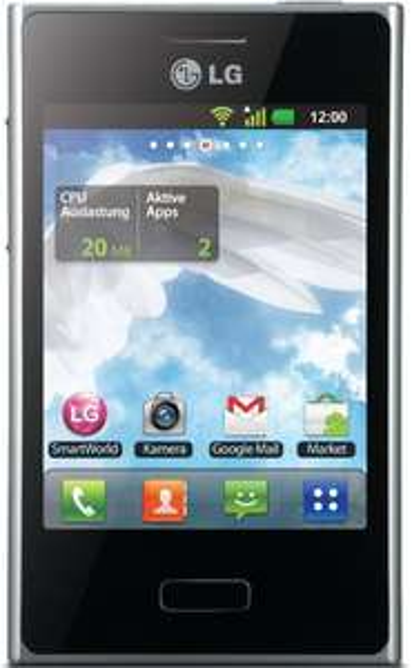 [3% Qipu/B-Ware] LG Optimus L3 E400 (schwarz / Touchscreen / Android / WLAN / GPS ohne Simlock) für 34,94€ frei Haus @DC