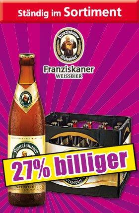 Franziskaner Weißbier (Norma/Offline)