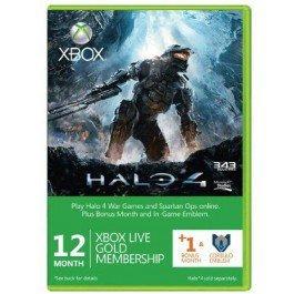 12 + 1 Month Xbox Live Gold Membership + Halo 4 Corbulo Emblem (Xbox One/360) [cdkeys.com]