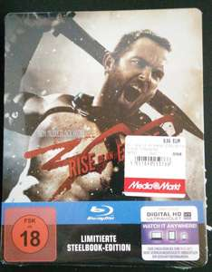 [MM lokal Berlin Gropiuspassagen] 300 - Rise of an Empire Steelbook 9,99€/ eventuell 7,99€