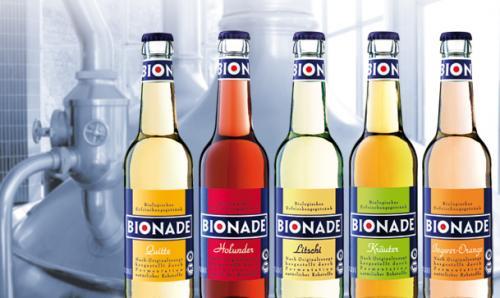 Bionade 4 Flaschen für 1,99 Euro (= 1 Kasten für 11,94) bei Rewe