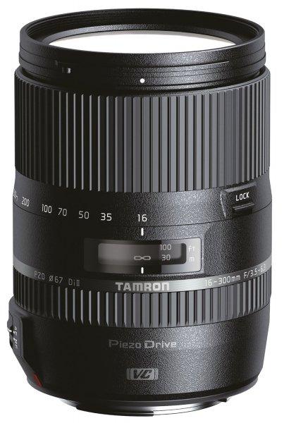 Tamron 16-300mm F/3,5-6,3 DI II C/AF VC PZD Macro für Canon 539.- €