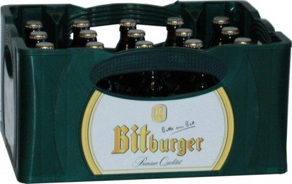 [Netto-Marken-Discount Mainz/Wiesbaden/Frankfurt] Bitburger Premium Pils oder Radler 20x0,33l Kasten für 8,40€ + Pfand