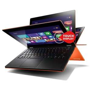 Lenovo IdeaPad Yoga 11s (11,6 Zoll) Convertible Ultrabook (Core i3, 128 GB, 8GB RAM) in Orange (Vergleichspreis 679€)