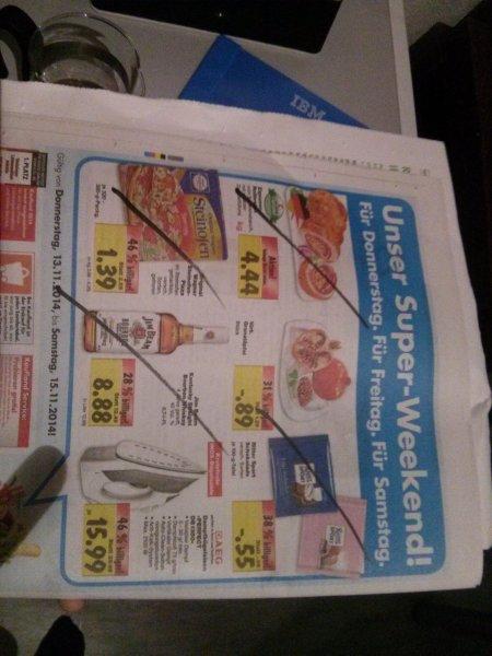 [Lokal Stuttgart?] Kaufland: Ritter Sport 0,55€, Steinofen Pizza 1,39€, Jim Bean 8,88€, AEG Bügeleisen 15,99€