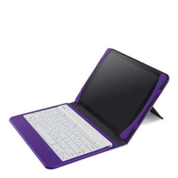 Belkin Slim Style Tastatur-Case (iPad Air) violett für 19,49€ @Zavvi.com