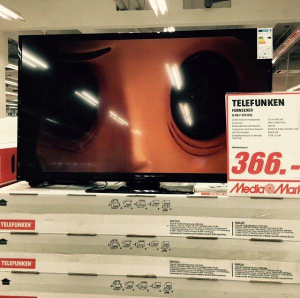 Telefunken Smart TV 48 Zoll im Media Markt Wiesbaden Äppelallee
