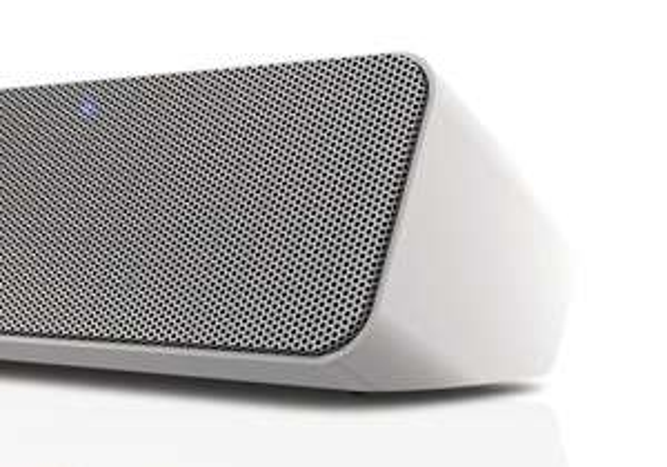 [Amazon WHD] Philips SBT550WHI/12 kabelloser Lautsprecher mit Bluetooth (Bassreflex-Lautsprecher, USB-Anschluss, Audioeingang) weiß ab 39€