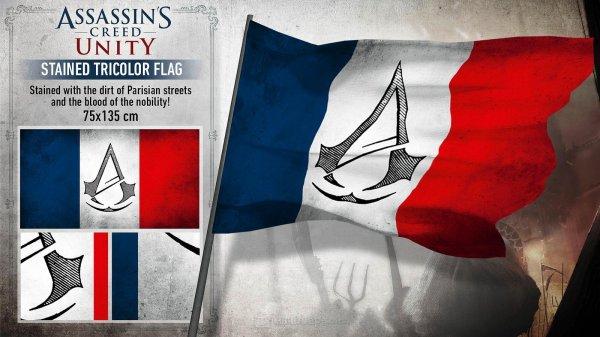 Lokal Saturn Köln Hansaring Assassin´s Creed Unity PS4 und Flagge 55,-