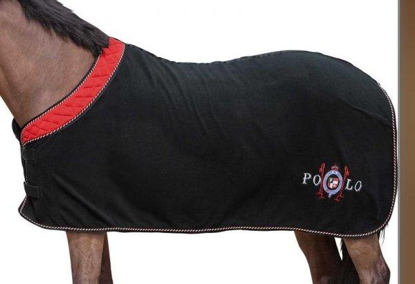 Pferdefreunde: Abschwitzdecke Polo Gold Circuit für 29,99 € anstatt 44,50 € bei Loesdau