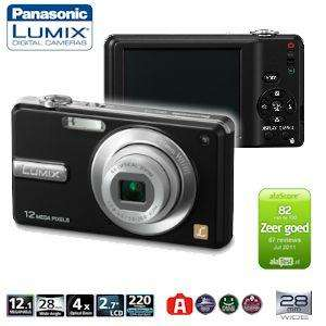 Panasonic Lumix DMC-F3 12.1MP Digitalkamera nur 65,90 €
