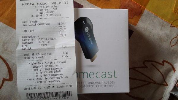 [lokal? ] Google Chromecast bei MM Velbert