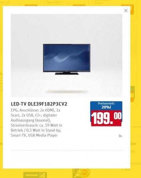 "Dual LED-TV 39"" Full HD Triple Tuner Smart-TV(DLE39F182P3CV2)"