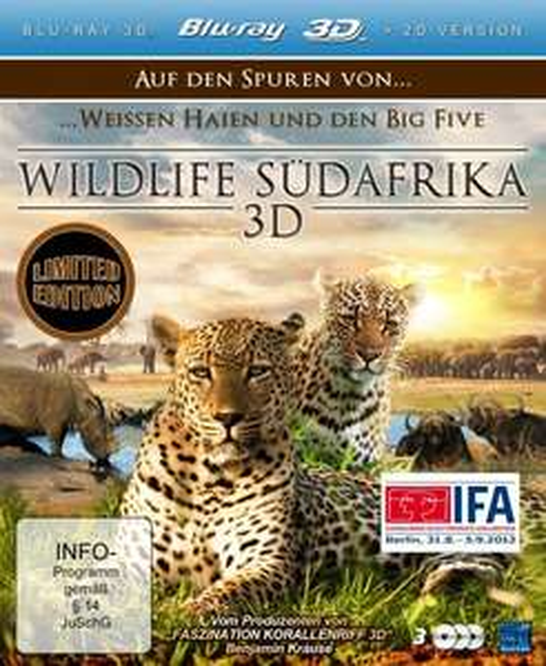 Wildlife Südafrika 3D Blu-Ray Amazon-Blitzangebote- abgelaufen!-