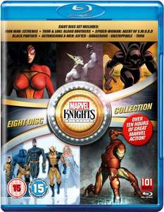 Marvel Knights Collection (Blu-ray / DVD)