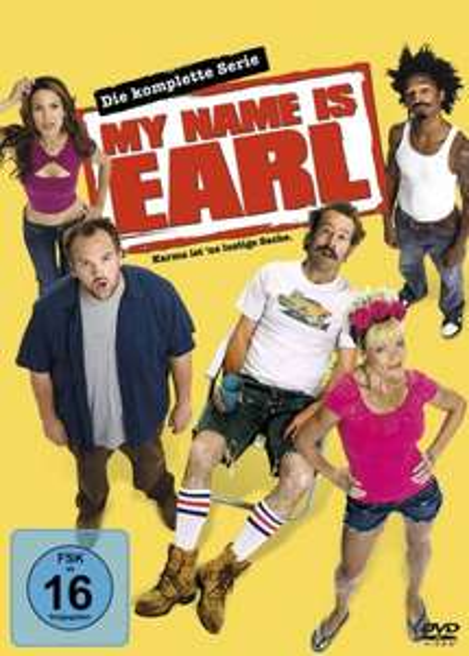 My Name Is Earl -- Komplette Serie (DVD) für 29,97€ @Amazon