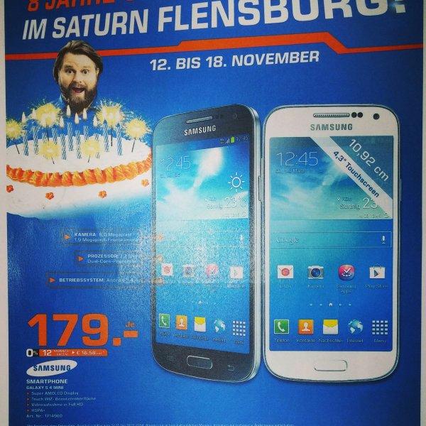 Galaxy s4 mini für 179€ Saturn Flensburg