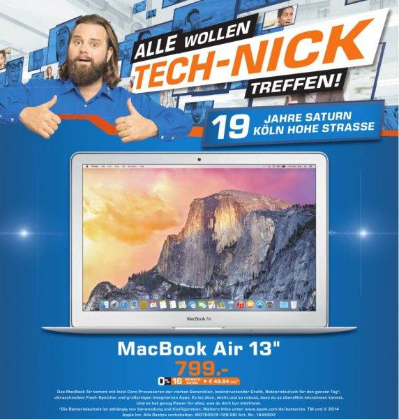 """[Lokal: Köln] MacBook Air 13"""", MD7600D/B, 128GB im Saturn, Hohe Straße"""