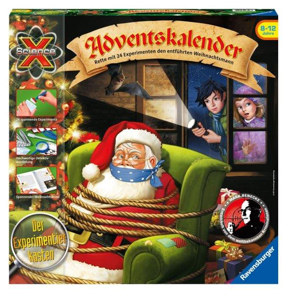 [Penny Düsseldorf] ScienceX Adventskalender - Rette mit 24 Experimenten den entführten Weihnachtsmann – Ravensburger 18896, Idealo ab 34€!
