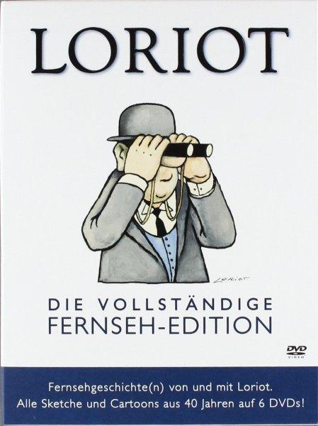 [LOKAL?] Loriot - Die vollständige Fernseh-Edition [6 DVDs] für 14,99€ - Saturn Leverkusen