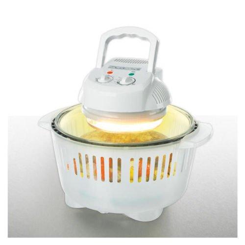 Multi Halogen Ofen Airgrill Heißluftofen 12L 17L viel Zubehör für 29,99€ @Ebay
