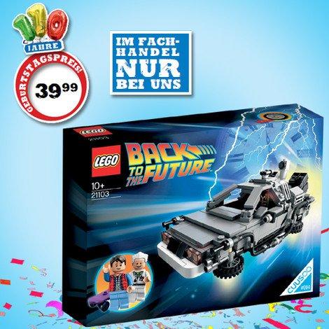 [Lokal, Spielwaren Faix] LEGO 21103 Back to the future - DeLorean Zeitmaschine V29