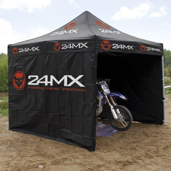 24MX Rennzelt 3x3m mit Seitenwänden