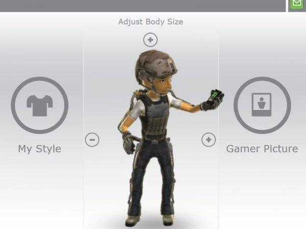 XBOX Advanced Warfare Exo Skelett Avatar Item