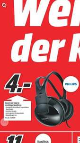 Philips Leichtbügel Kopfhörer