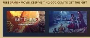 gog.Com THE WITCHER 2 + THE GAMERS: DIRECTOR'S CUT FOR FREE