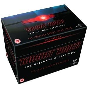 Knight Rider - The Complete Collection DVD (OT) für 25,99€ @Zavvi.com