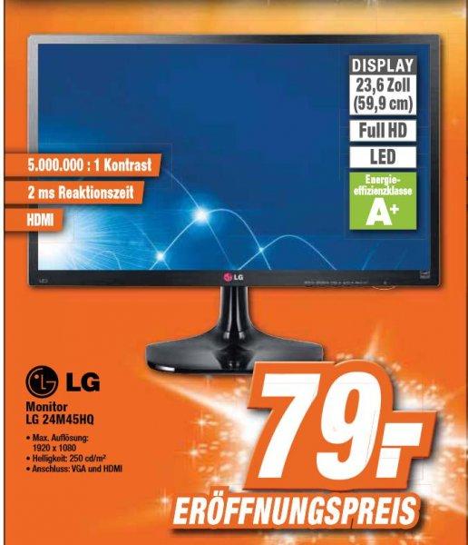 [Lokal Garbsen Expert] LG 24M45HQ, 23,6 Zoll, FullHD, LED