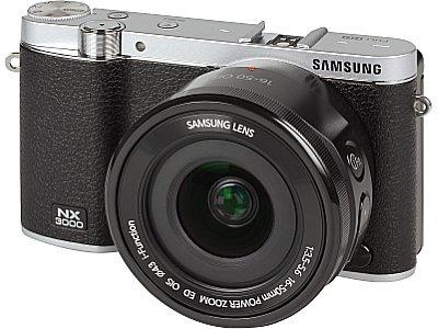Samsung NX3000 (in schwarz) günstig bei Amazon.it