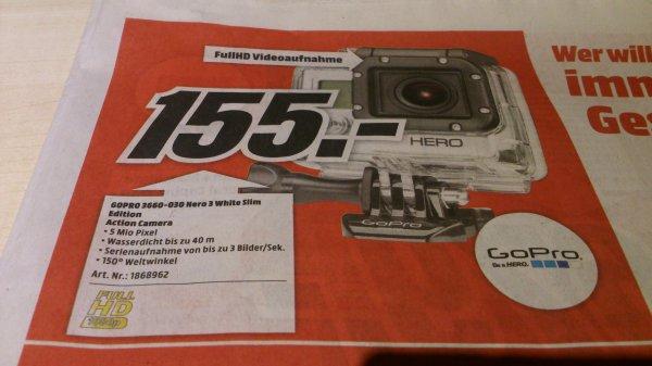 Lokal MM Magdeburg GoPro Hero 3 White Slim Edition