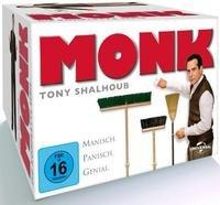 Monk - Die komplette Serie (Staffel 1-8) DVD für 48,40€ @ Thalia