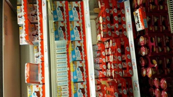 real köln-porz: Milchschnitte + Kinder Pingui 1.49