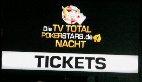 TV Total PokerStars.de Nacht - am Donnerstag, 20.11.2014 - 16 Uhr - Köln
