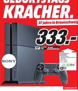 [lokal MediaMarkt BS] Sony PlayStation 4 (PS4) für 333€