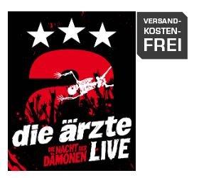 [Update] Die Ärzte -LIVE - DIE NACHT DER DÄMONEN Blu Ray Deluxe Edition für 16 € bei Saturn Online