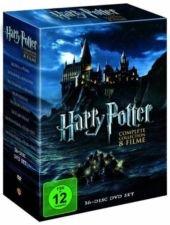 [lokal/Bonn] Harry Potter - Complete Collection Abenteuer DVD (8 Filme/16 DVDs)