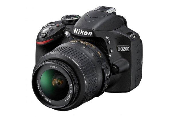 [ Media Markt - bundesweit ] NIKON D3200 KIT AF-S DX 18-55 VR II Spiegelreflex Kamera für 299€