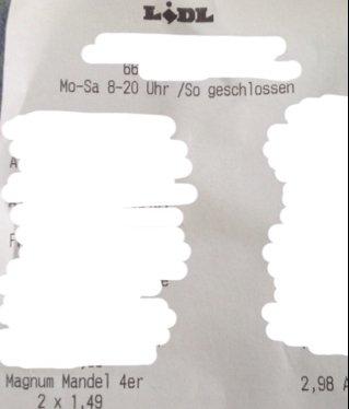 [Lidl lokal] Magnum Mandel für 1,49€