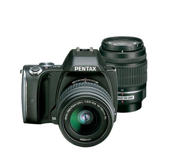 Pentax K-S1 Kit 18-55 mm + 50-200 mm (schwarz) für 551,76€ @Amazon.fr