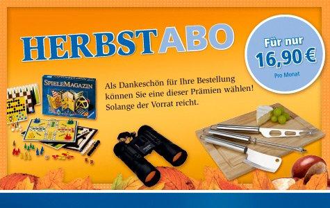 [Lokal Kreis Soest] Soester Anzeiger 3 Monate Herbstabo ohne Kündigung